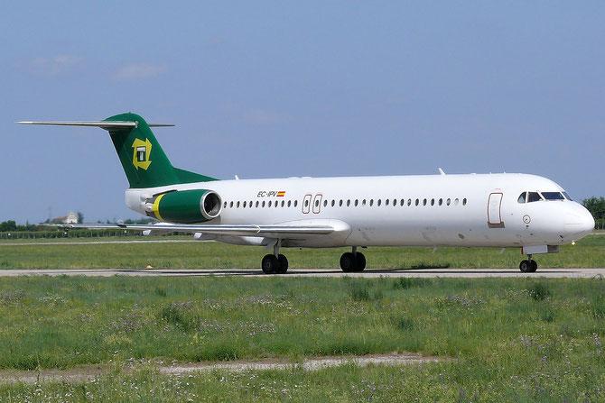 EC-IPV Fokker 100 11451 GirJet - Gestion Aerea Ejecutiva