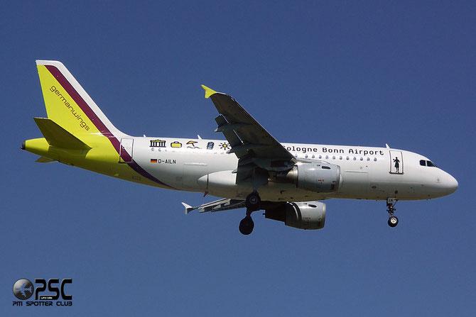 Airbus A319 - MSN 700 - D-AILN (lsd from Lufthansa) @ Aeroporto di Verona © Piti Spotter Club Verona