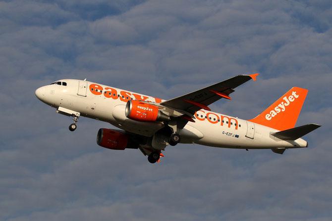 G-EZFJ A319-111 4040 EasyJet Airline @ Aeroporto di Verona © Piti Spotter Club Verona
