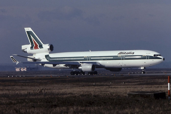 I-DUPO MD-11C 48429/500 Alitalia