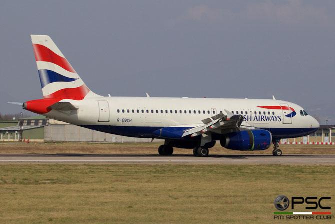 G-DBCH A319-131 2697 British Airways @ Aeroporto di Verona © Piti Spotter Club Verona