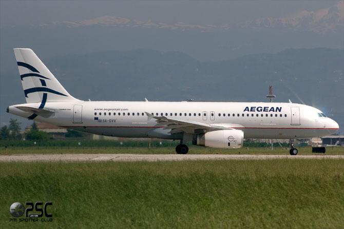 SX-DVX A320-232 3829 Aegean Airlines