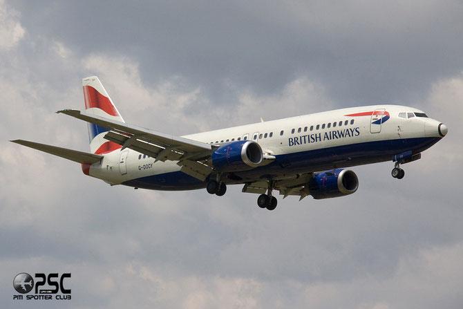 Boeing 737 - MSN 25844 - G-DOCY @ Aeroporto di Verona © Piti Spotter Club Verona