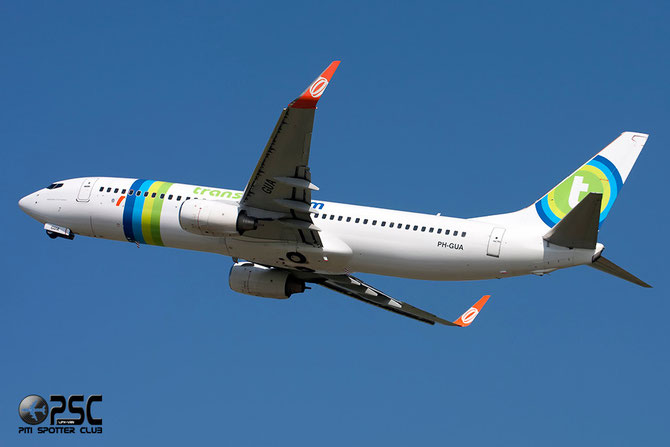 Boeing 737 Next Gen - MSN 37601 - PH-GUA @ Aeroporto di Verona © Piti Spotter Club Verona