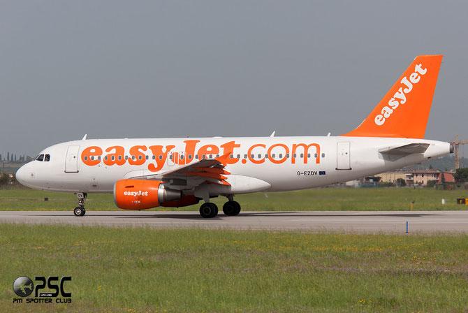 Airbus A319 - MSN 3742 - G-EZDV @ Aeroporto di Verona © Piti Spotter Club Verona