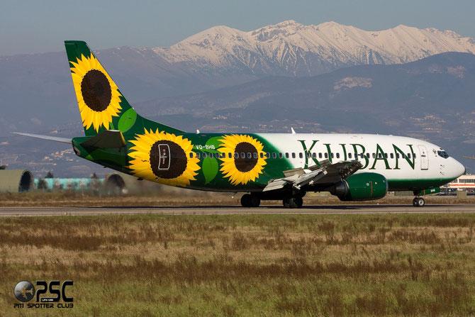Boeing 737 - MSN 26310 - VQ-BHB @ Aeroporto di Verona © Piti Spotter Club Verona