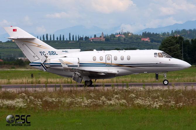 TC-SBL BAe125-850XP 258793 Tarkim Havacilik