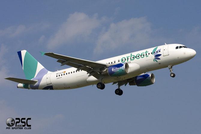 EC-LLX A320-214 4735 Orbest Orizonia Airlines