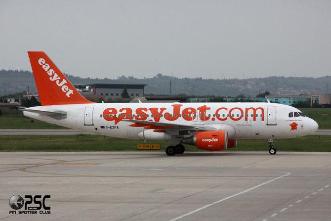Airbus A319 - MSN 3788 - G-EZFA - Named La France Au Coeur @ Aeroporto di Verona © Piti Spotter Club Verona