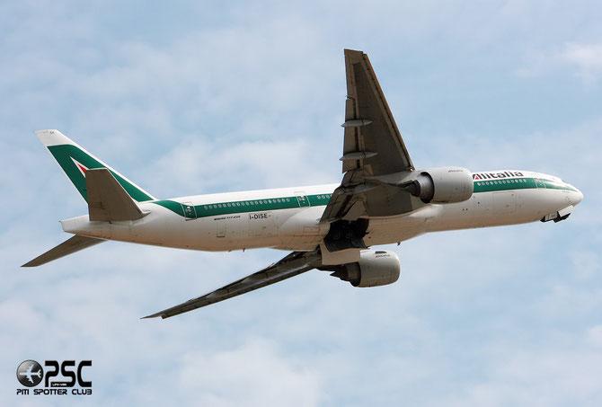 Boeing 777 - MSN 32856 - I-DISE @ Aeroporto di Verona © Piti Spotter Club Verona