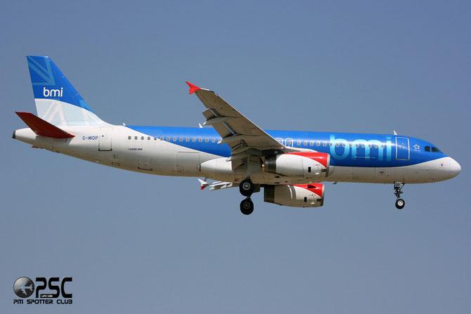 Airbus A320 - MSN 1732 - G-MIDP @ Aeroporto di Verona © Piti Spotter Club Verona