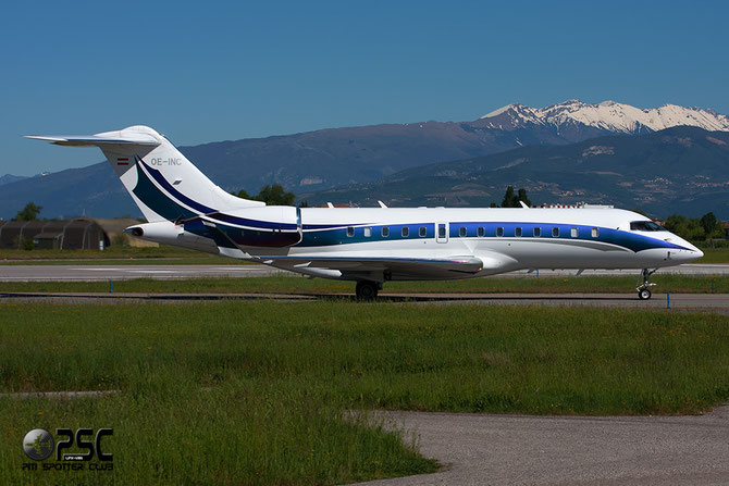 OE-INC Global 5000 9168 Global Jet Austria GmbH