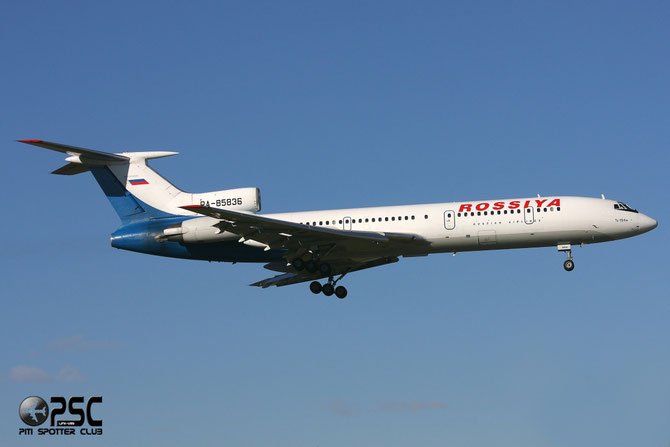 Rossiya Airlines - Tupolev Tu-154M - RA-85836 @ Aeroporto di Verona © Piti Spotter Club Verona