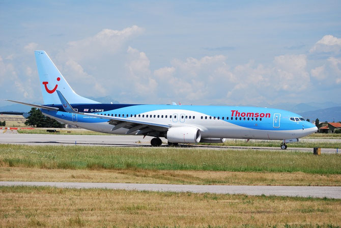 G-TAWS B737-8K5 37241/4842 Thomson Airways