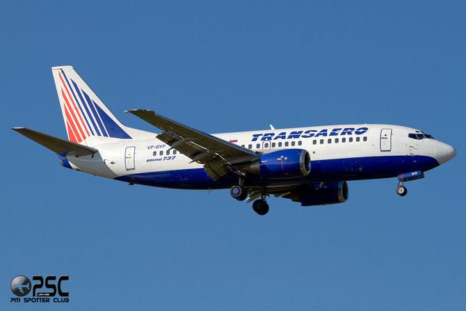 Boeing 737 - MSN 28927 - VP-BYP @ Aeroporto di Verona © Piti Spotter Club Verona