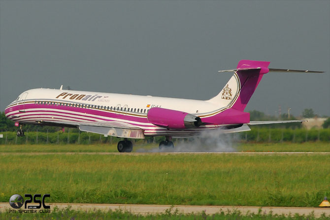 EC-KJI MD-87 49836/1721 Pronair
