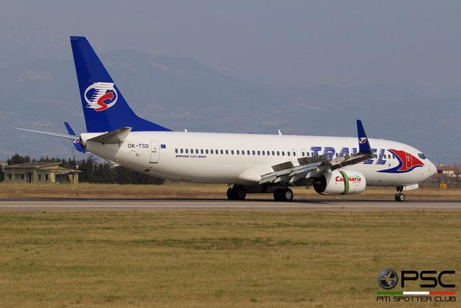 OK-TSD B737-8Q8 41795/4895 Travel Service @ Aeroporto di Verona © Piti Spotter Club Verona