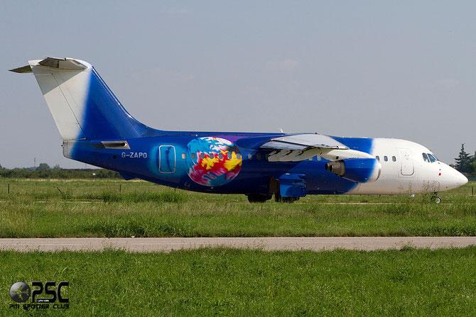 G-ZAPO BAe146-200QC E2176 Titan Airways @ Aeroporto di Verona © Piti Spotter Club Verona