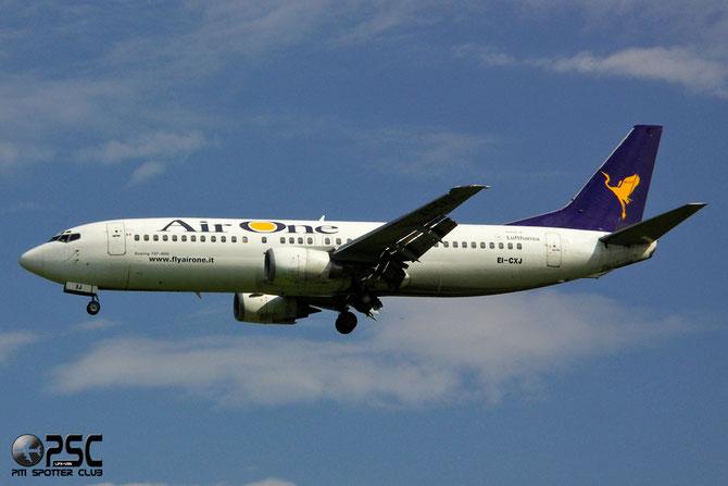 EI-CXJ B737-4Q8 25164/2447 Air One