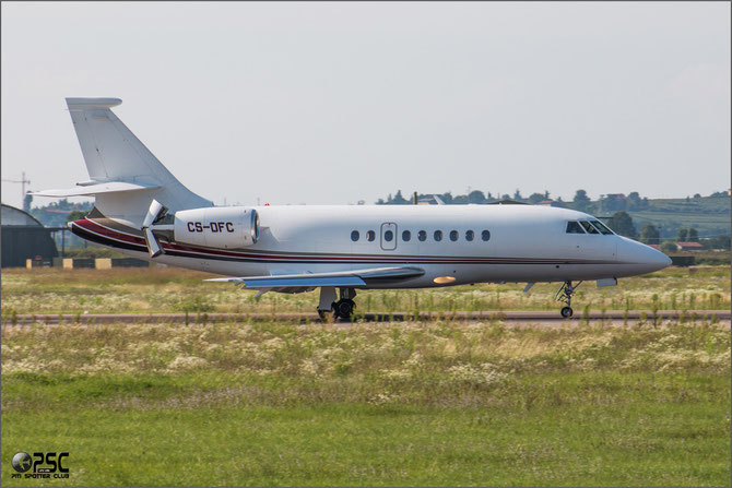 CS-DFC Falcon 2000 148 NetJets Europe