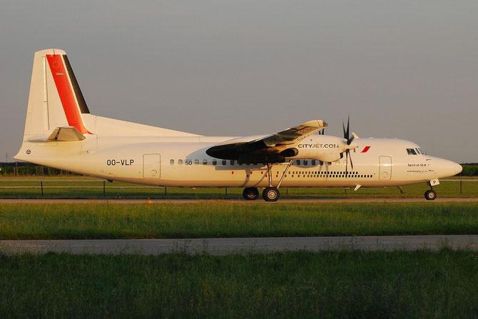 OO-VLP Fokker 50 20209 CityJet