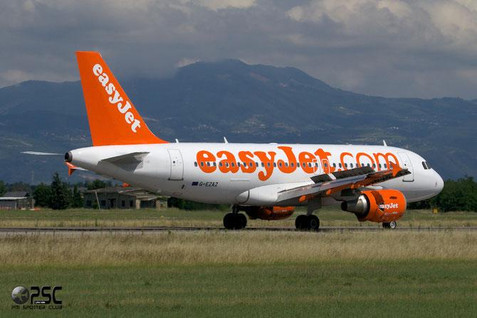 G-EZAZ A319-111 2829 EasyJet Airline