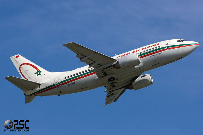 CN-RMW B737-5B6 25364/2166 Royal Air Maroc