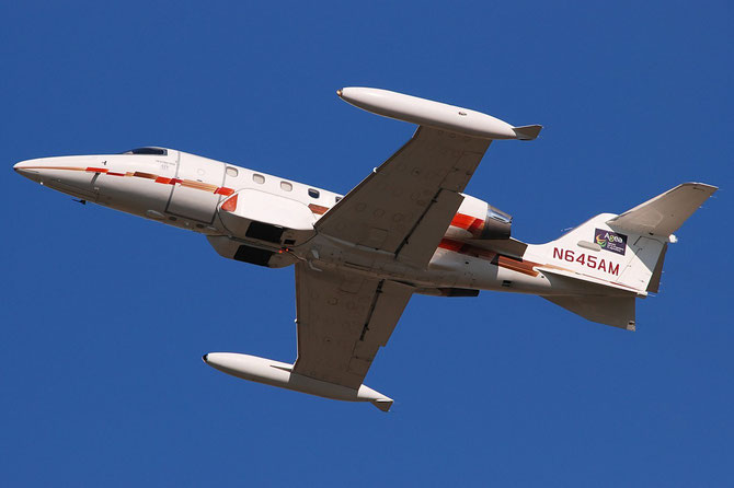 N645AM Learjet 35A 35A-645