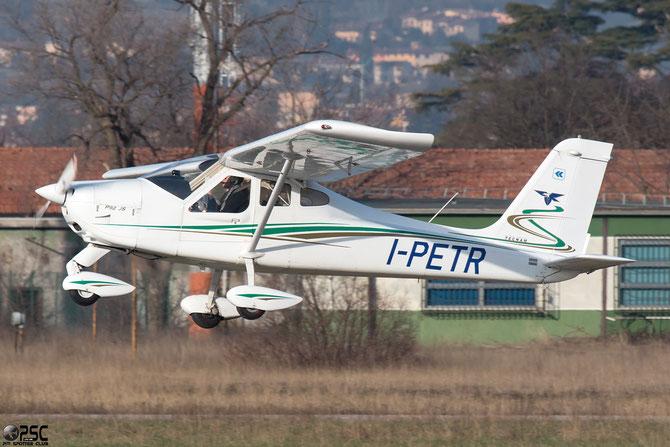 I-PETR - Tecnam P92 Echo - @ Aeroporto Verona Boscomantico © Piti Spotter Club Verona