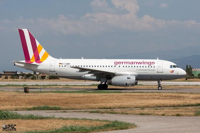 D-AGWH A319-132 3352 Germanwings @ Aeroporto di Verona © Piti Spotter Club Verona