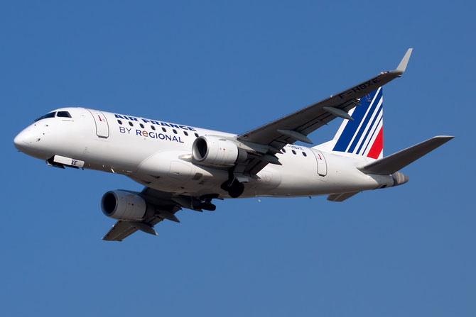 Embraer 170/175 - MSN 286 - F-HBXE  (Air France Regionale CAE livery) @ Aeroporto di Verona © Piti Spotter Club Verona