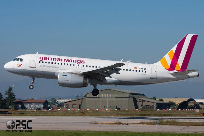 Airbus A319 - MSN 4227 - D-AGWP  - new c/s @ Aeroporto di Verona © Piti Spotter Club Verona
