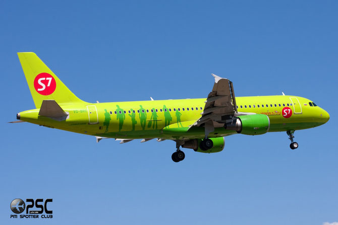 VQ-BRC A320-214 5106 S7 Airlines