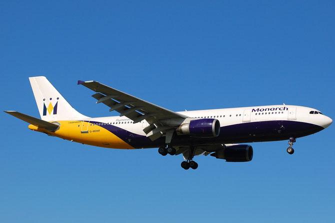 Airbus A300 - MSN 540 - G-MONR @ Aeroporto di Verona © Piti Spotter Club Verona