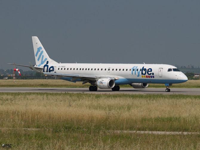 Embraer 190/195 - MSN 93 - G-FBEE @ Aeroporto di Verona © Piti Spotter Club Verona