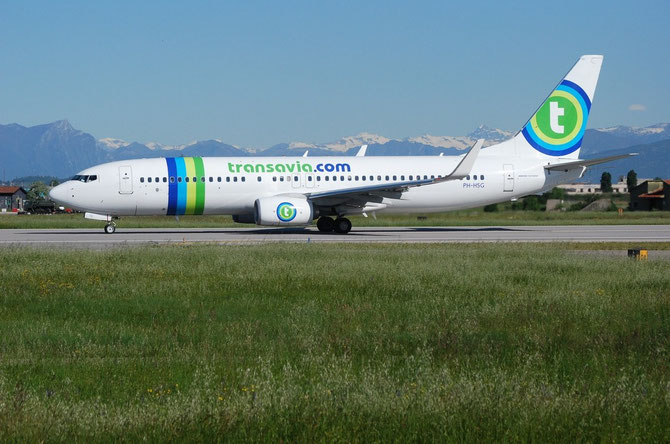 PH-HSG B737-8K2 39262/4021 Transavia Airlines