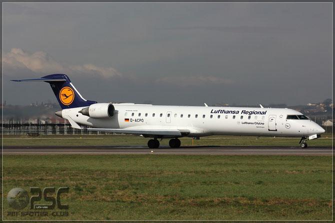 Canadair Regional Jet - MSN 10085 - D-ACPO  @ Aeroporto di Verona © Piti Spotter Club Verona
