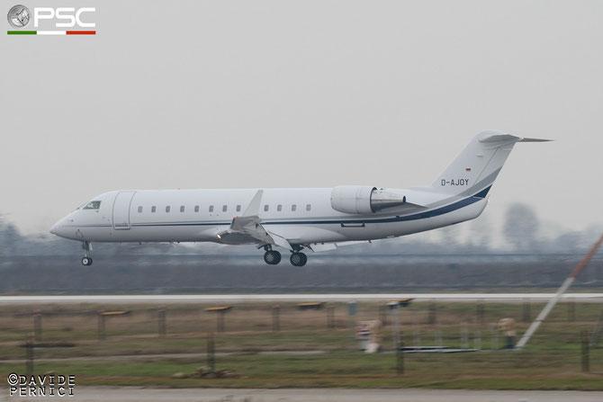 D-AJOY CL-850 8069 Elytra Charter @ Aeroporto di Verona © Piti Spotter Club Verona