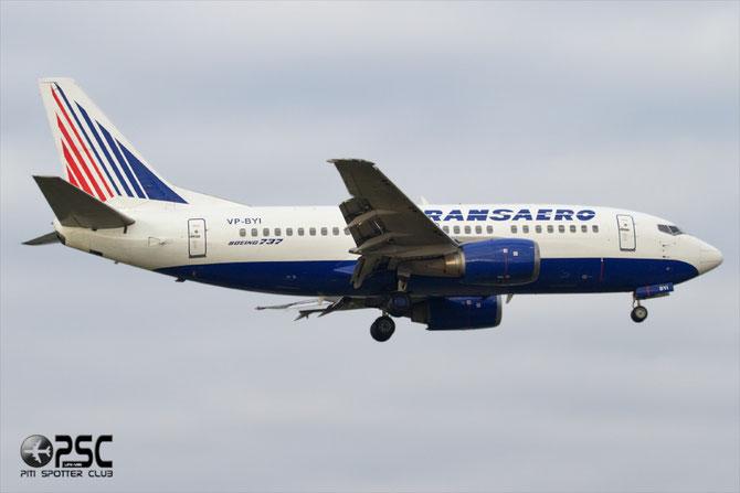 Boeing 737 - MSN 28921 - VP-BYI @ Aeroporto di Verona © Piti Spotter Club Verona