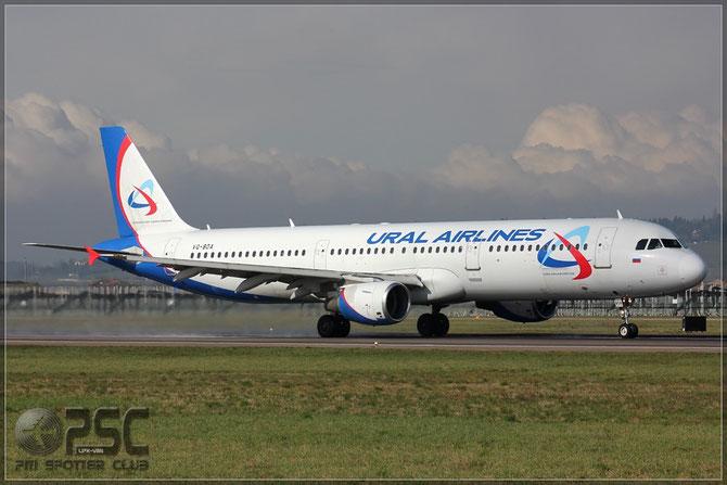 Airbus A321 - MSN 1012 - VQ-BDA @ Aeroporto di Verona © Piti Spotter Club Verona