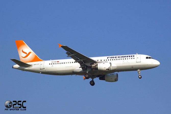 TC-FBY A320-211 283 Freebird Airlines