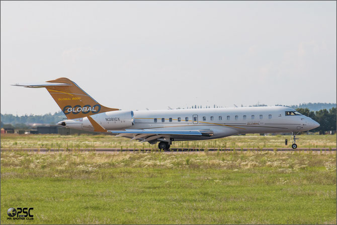 N381GX Global 6000 9381 WCA Holdings IV LLC