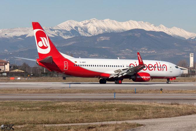 D-ABKT B737-86J 36881/3671 Air Berlin  @ Aeroporto di Verona © Piti Spotter Club Verona