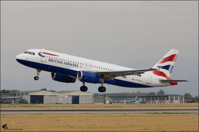 G-GATH A320-232 1482 British Airways @ Aeroporto di Verona © Piti Spotter Club Verona