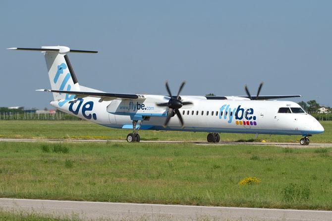 Dash 8 - MSN 4257 - G-FLBC @ Aeroporto di Verona © Piti Spotter Club Verona