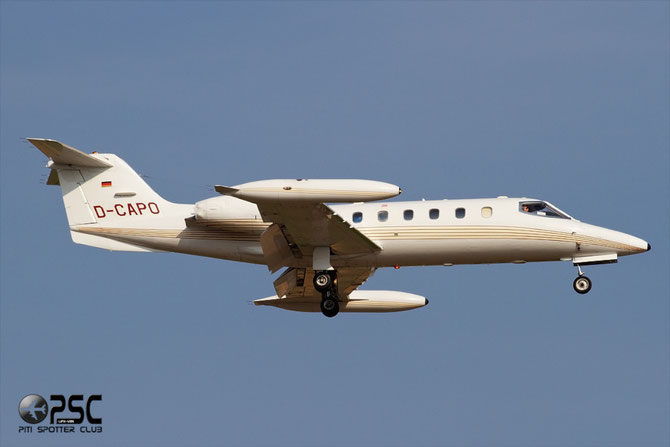 D-CAPO Learjet 35A 35A-159 Jet Executive International Charter