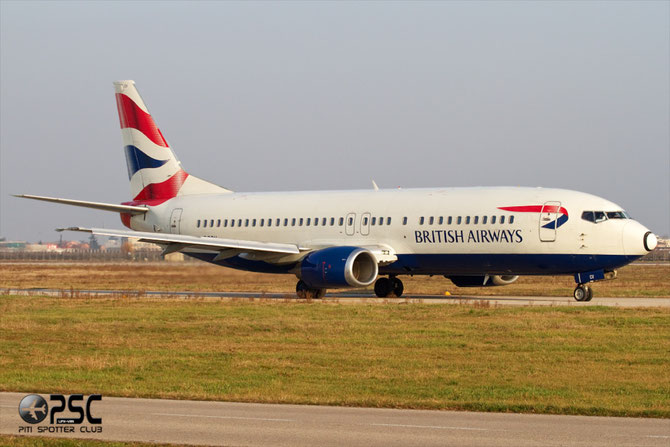 Boeing 737 - MSN 25855 - G-DOCV @ Aeroporto di Verona © Piti Spotter Club Verona