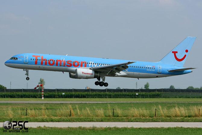 Boeing 757 - MSN 27208 - G-BYAT  @ Aeroporto di Verona © Piti Spotter Club Verona