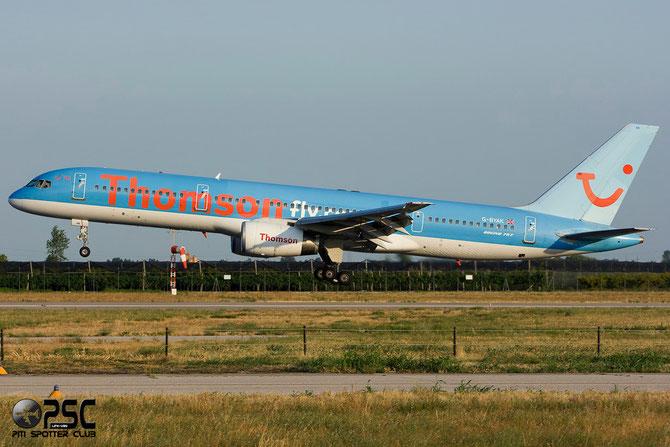 Boeing 757 - MSN 26267 - G-BYAK @ Aeroporto di Verona © Piti Spotter Club Verona