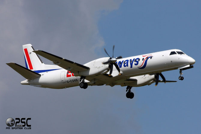 G-CDKB Saab 2000 2000-032 Eastern Airways